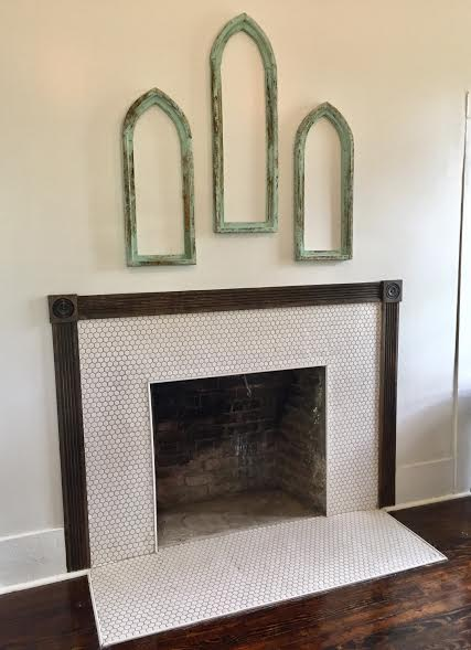 fireplace finished